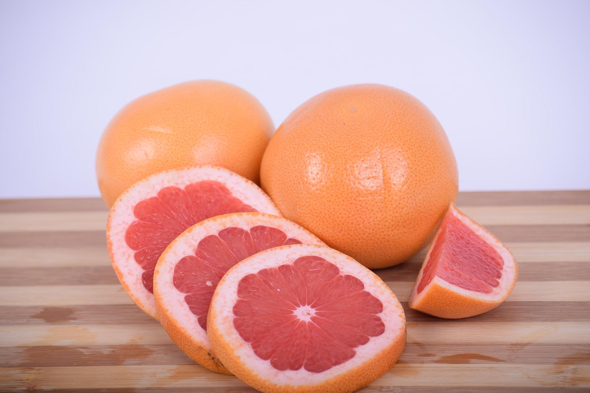 紅葡萄柚果肉